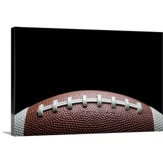"""American football"" Canvas Wall Art"