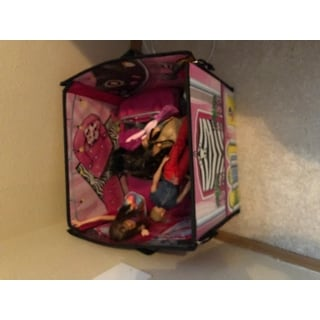 Neat-Oh Barbie ZipBin 40 Doll Dream House Toy Box and Playmat