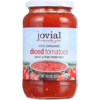 Jovial Tomatoes - Organic - Diced - 18.3 oz - case of 6