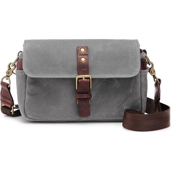 ONA - The Bowery - Camera Messenger Bag - Smoke Gray, Waxed Canvas