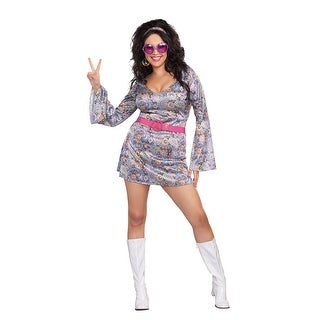 Love-Fest Adult Womens Hippie Costume