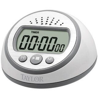 Taylor 5873 Super Loud Digital Timer, Plastic