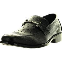 Alberto Fellini Pazzini Mens Dress Shoes Fashion Casual Loafers Slip On Italian Styling