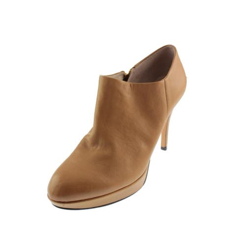 Vince Camuto Women's Elvin Leather High Heel Ankle Shootie