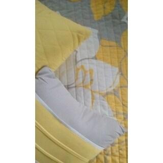 Madison Park Brianna Yellow 6 Piece Reversible Coverlet Set