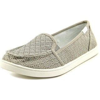 Roxy Lido III Round Toe Canvas Loafer