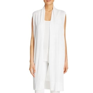 MICHAEL Michael Kors Womens Casual Vest Knit Open Front