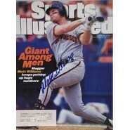 Signed Williams Matt Sports Illustrated Magazine Cover Only 6595 Issue autographed