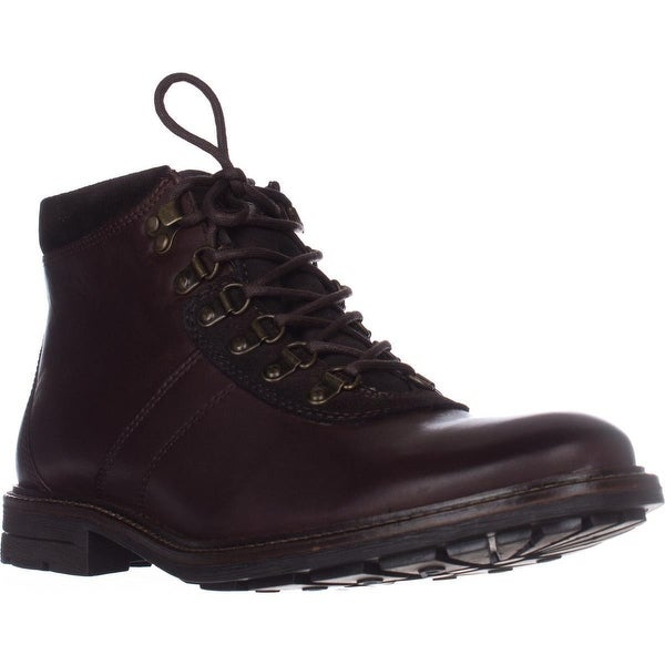 B35 Boyd Mens Lace Up Boots, Brown - 10.5 us