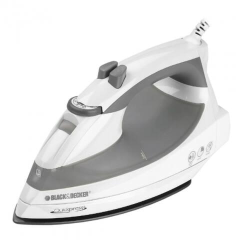 Black & Decker F976 QuickPress Iron with Smart Steam Technology, 1200W