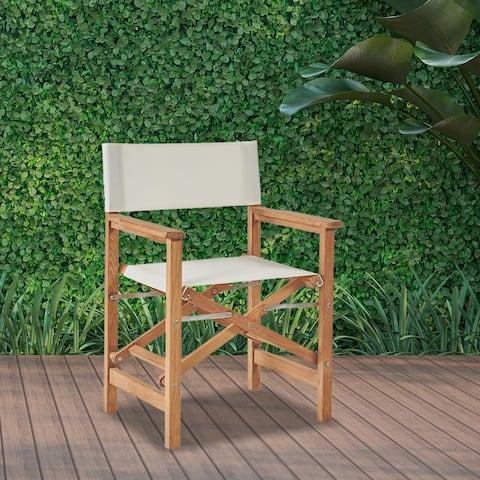 Director Teak Folding Outdoor Chair