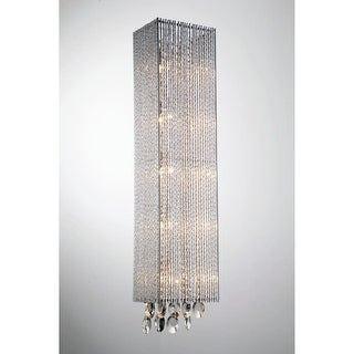 "Bromi Design B84675HS Crystalline 5 Light 7-7/8"" High Wall Sconce"