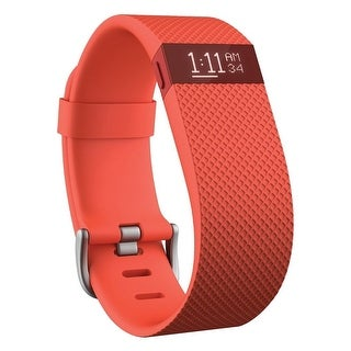 Fitbit Charge HR Wireless Activity Wristband (Tangerine / Large)