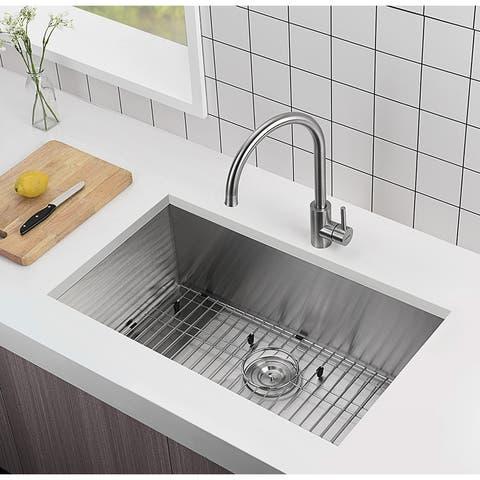 Moda MDD-NF3018 Stainless Steel Sink - 30 IN×18 IN×10 IN