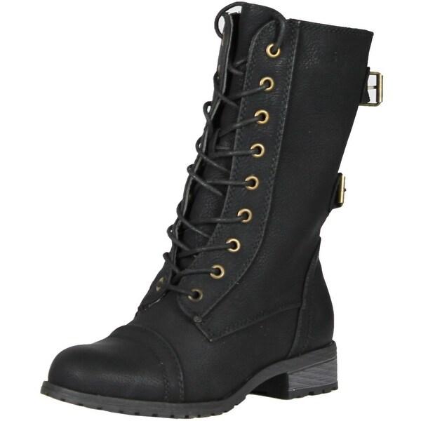 Wild Diva Women Timberly-02 Boots
