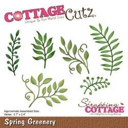 "Spring Greenery; 0.7"" To 2.4"" - Cottagecutz Die"