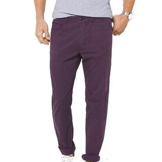 Michael Kors NEW Purple Mens Size 38X32 Straight Leg 5-Pocket Pants