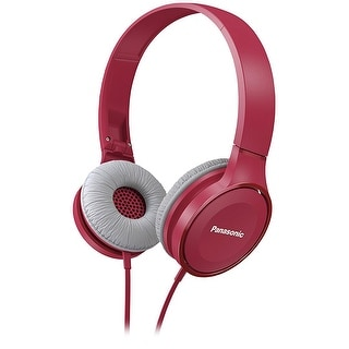 Panasonic Lightweight On-Ear Headphones  (Pink)