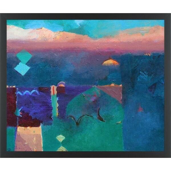 Easy Art Prints Gerry Dudgeon's 'Meknes Green' Premium Canvas Art