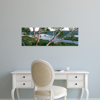 Easy Art Prints Panoramic Images's 'Mississippi River Perrot State Park WI' Premium Canvas Art