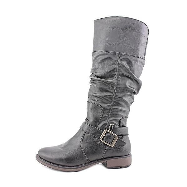 Bare Traps Womens Soho Almond Toe Mid-Calf Fashion Boots