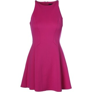 Aqua Womens Lace Sleeveless Mini Cocktail Dress BHFO 6301