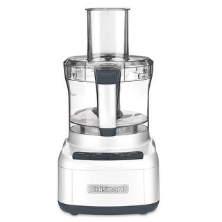 Cuisinart FP-8 Elemental 8-Cup Food Processor, White