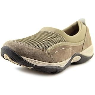 Easy Spirit Ebnor Women Round Toe Suede Gray Walking Shoe