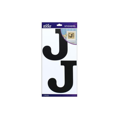 52-90450 ek sticko sticker basic black monogram j