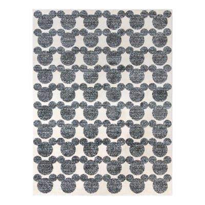 """MM New Style Tile Neutral Area Rug (5'3"""" x 7') by Gertmenian"""