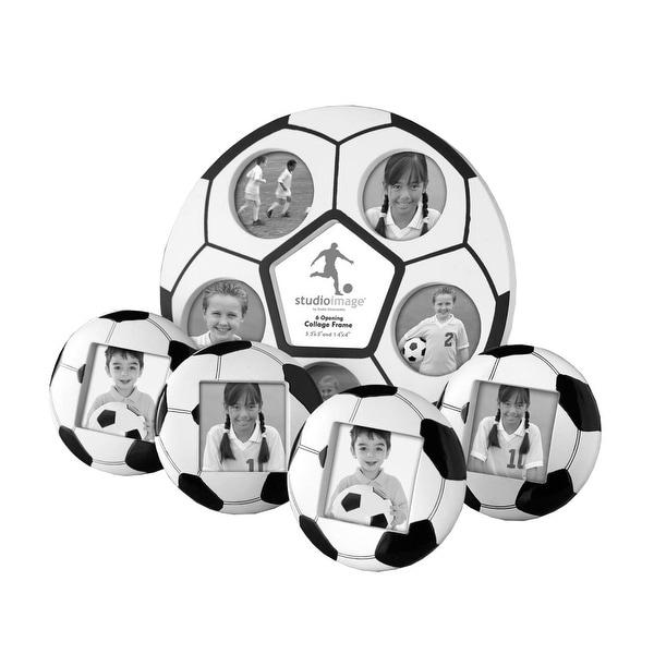Studio Silversmiths 5 Piece Soccer Photo Frame Set