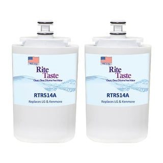 Rite Taste Replacement Water Filter Cartridge for PUR / PUR EDR5RXD1 Filter (2pk)