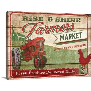 """Fresh Produce"" Canvas Wall Art"