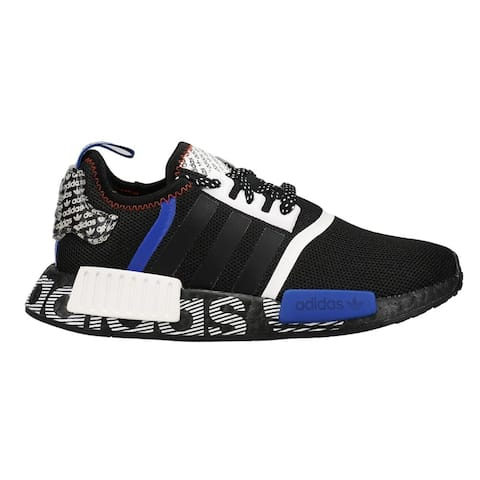 adidas Nmd_R1 Lace Up Kids Boys Sneakers Shoes Casual - Black