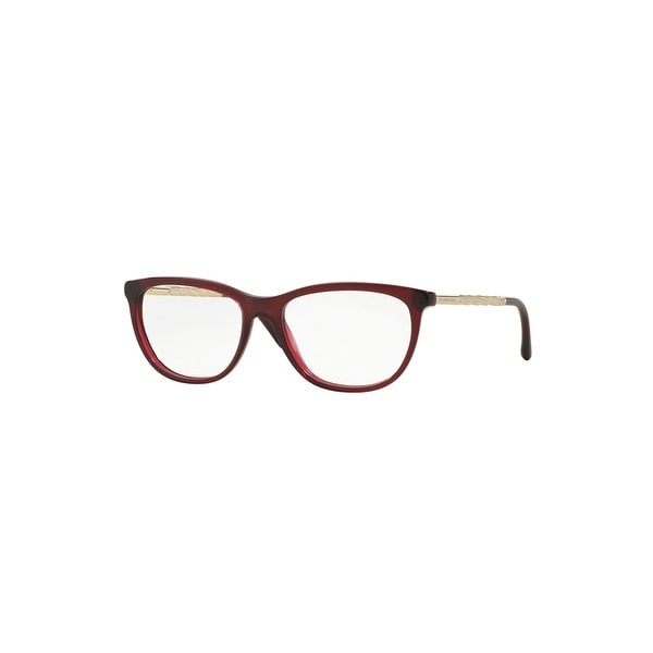 a639ac3cec95 Shop Burberry Ladies Optical Cat-Eye Glasses In Gabardine - One Size - Free  Shipping Today - Overstock - 26301387