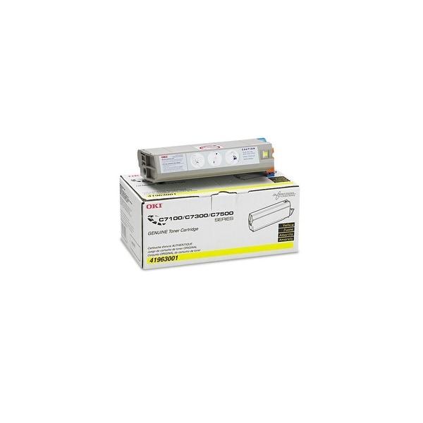 OKI Type C4 Toner Cartridge - Yellow 41963001 Toner Cartridge