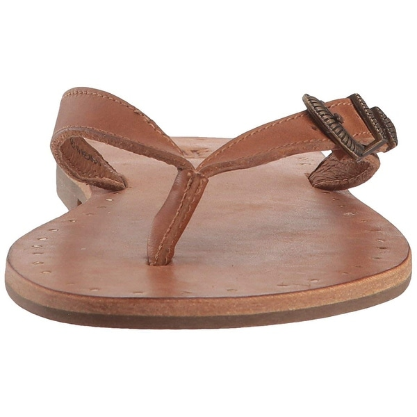 Shop Frye Womens Ally Western Flip Flop Leather Open Toe