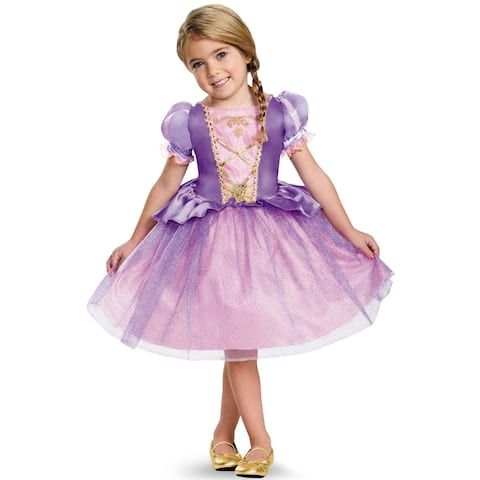 Disguise Rapunzel Classic Toddler Costume - Purple