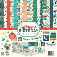 "Echo Park Collection Kit 12""X12""-Happy Birthday Boy"
