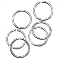 Silver Filled Open Jump Rings 6mm 20 Gauge (10)