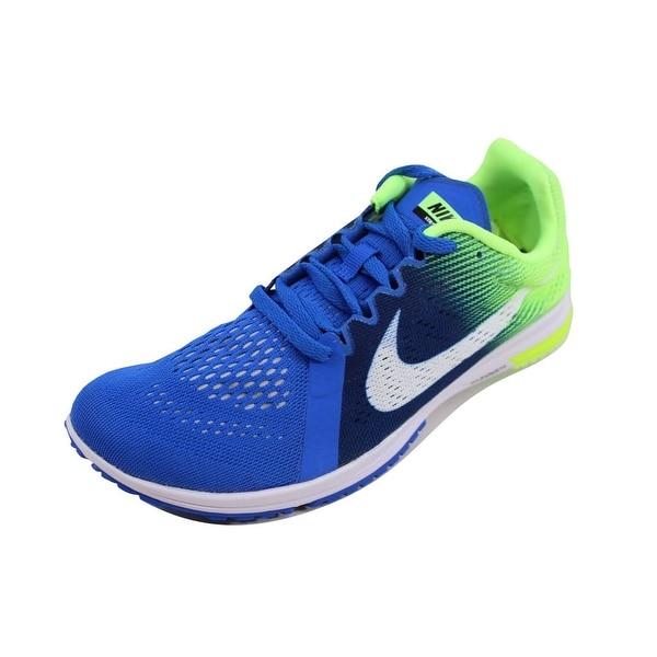 on sale 894c7 64fe1 Nike Men  x27 s Zoom Streak LT 3 Hyper Cobalt White 819038-