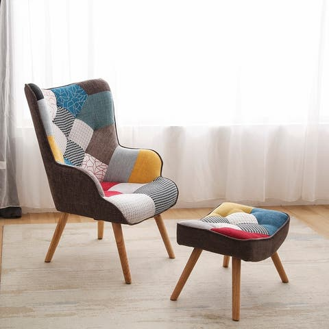 Patchwork armchair sets sofachair