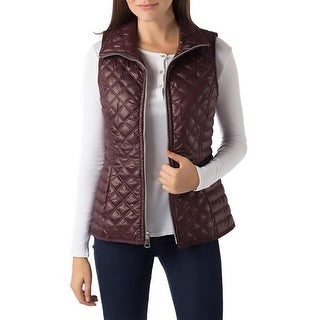 Marc New York Womens Outerwear Vest Quilted Lightweight