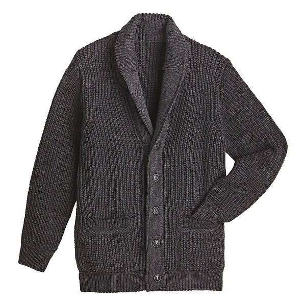 Shop West End Knitwear Men S Merino Wool Sweater Ribbed