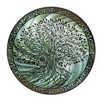 Next Innovations 101209002 Metal Wall Art Round Tree Of Life Teal