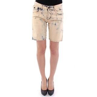 Dolce & Gabbana Dolce & Gabbana Blue cotton washed jeans shorts