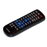 OEM Toshiba Remote Control Originally Shipped With: SD4100, SD-4100, SD4100KU, SD-4100KU, SD4100KU2, SD-4100KU2