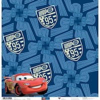 "Disney Single-Sided Paper 12""X12""-Cars"