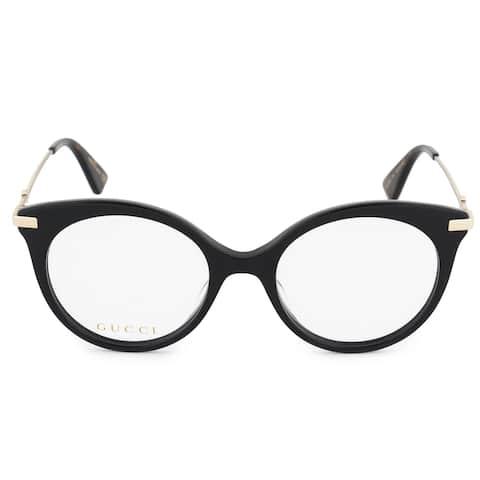 Gucci Gucci Cat Eye Eyeglass Frames GG0109O 001 50 - 50mm x 19mm x 140mm