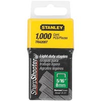 "Stanley 5/16"" Light Duty Staple TRA205T Unit: EACH"